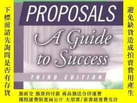 二手書博民逛書店Research罕見Proposals, Third EditionY364682 Ogden, Thomas