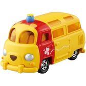 《TOMICA》夢幻小汽車 DM-18 小熊維尼麵包車  ╭★ JOYBUS玩具百貨