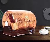 家用廚房餐具立式迷你消毒櫃筷子消毒機殺菌碗筷瀝水盒小型烘碗機  極客玩家  igo  220v