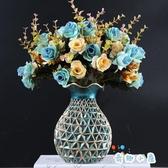 懷舊裝飾花瓶擺件客廳插花桌面餐桌酒柜裝飾品擺設【奇趣小屋】