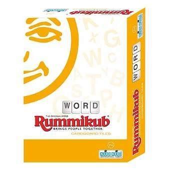 『高雄龐奇桌遊』 拉密 英文字彙 外出型簡易版 Rummikub Word Cardboard Lite 正版桌上遊戲專賣店
