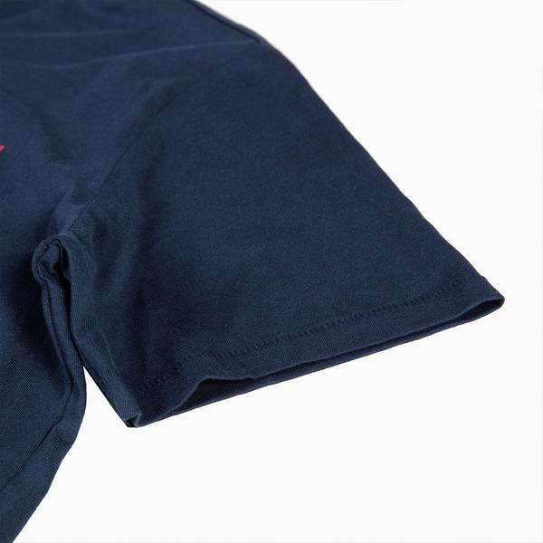 Levis 男款 短袖T恤 / 斑駁仿舊Logo / 深藍