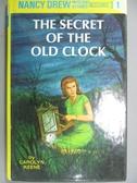 【書寶二手書T3/原文小說_HCF】The secret of the old clock_Keene, Carolyn
