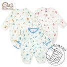 台灣製DODOE高密度紗布連身衣 兔裝 (防抓護手)新生兒服 超柔軟 連身衣 寶寶衣 【GD0142】