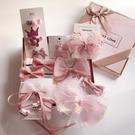 韓國高檔兒童發飾禮盒套裝女童頭飾公主蝴蝶結發夾小女孩生日禮物 【快速出貨】