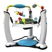 美國嬰兒健身架寶寶音樂遊戲桌嬰兒學步跳跳椅兒童搖搖椅帶娃哄娃神器  〖korea時尚記〗 YDL