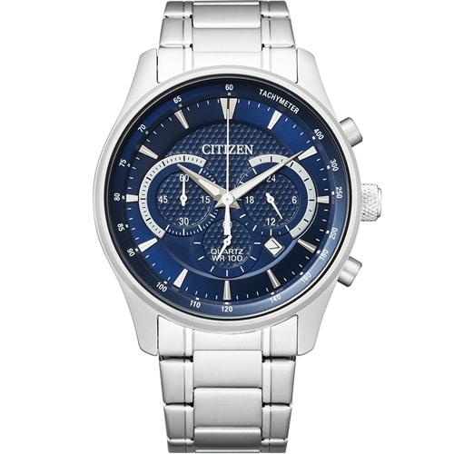 CITIZEN 星辰極速時空石英計時腕錶 AN8190-51L