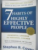 【書寶二手書T1/原文書_MSC】The 7 Habits of Highly Effective People_Covey, Stephen R./ Collins, Jim (FRW)