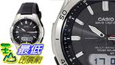 [106美國直購] Casio 太陽能動力錶Mens WVA-M640-1ACR SOLAR WAVECEPTOR _T01 數量1