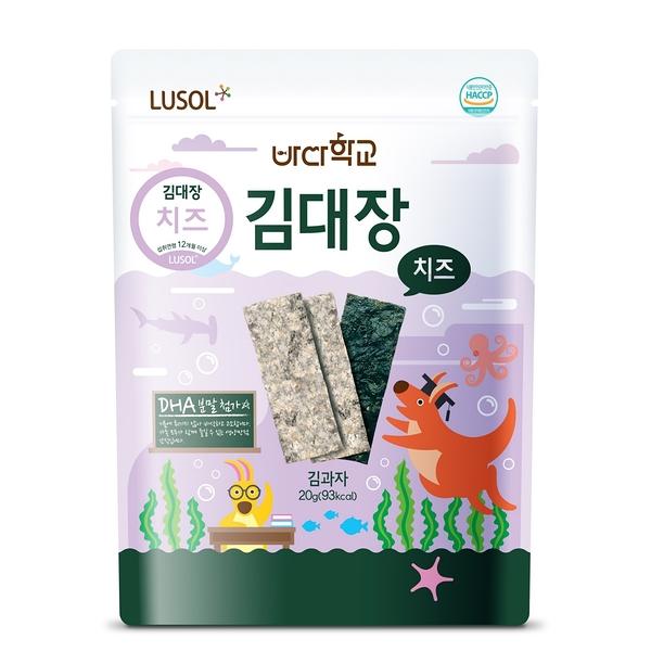 韓國 Lusol 起司海苔 /專利夾心寶寶海苔