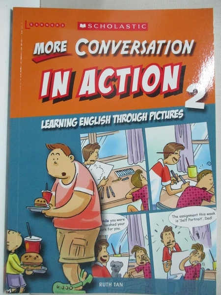 【書寶二手書T1/語言學習_HS6】More Conversation in Action 2_Ruth Tan