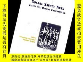 二手書博民逛書店SOCIAL罕見SAFETY NETS ISSUES AND RECENT EXPERIENCES【644】 社會