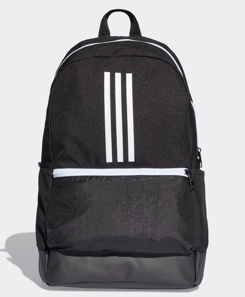 adidas CLASSIC 3-STRIPES BACKPACK 黑白 休閒 夾層 後背包 DT2626