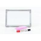 【特小白板20x30】買就送板擦+白板筆 白板 磁性白板 另有黑板及各大小尺寸 1052 [百貨通]