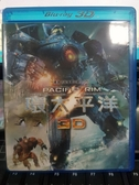 挖寶二手片-Q04-153-正版BD【環太平洋 3D 單碟】-藍光電影(直購價)海報是影印