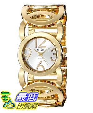 [美國直購] 女錶 XOXO Women s XO5211 Gold-Tone Watch with Link Bracelet