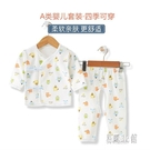 新生兒衣服0-3個月寶寶純棉內衣春秋夏季初生嬰兒和尚服套裝 CJ2677『易購3c館』