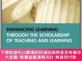 二手書博民逛書店預訂Enhancing罕見Learning Through The Scholarship Of Teaching