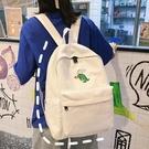 兒童書包-高中初中學生古著雙肩包書包女日繫可愛大容量校園 提拉米蘇