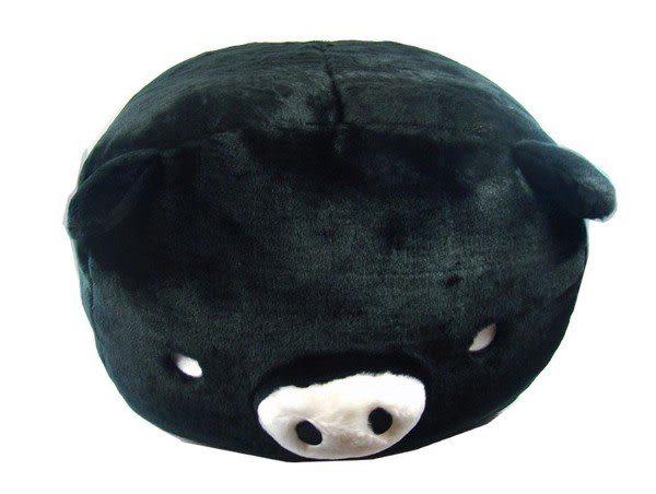 黑白豬超大絨毛娃娃