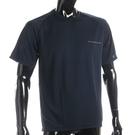 BURBERRY輕著圓領透氣短袖上衣(深藍色)085191