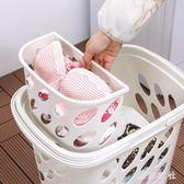 洗衣籃 臟衣籃塑料洗衣籃 臟衣服收納筐玩具收納裝衣服的籃子臟衣簍 QQ4632『東京衣社』