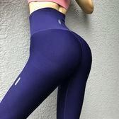 聖誕預熱  提臀緊身健身褲女高彈力運動速干透氣高腰翹臀瑜伽褲長褲秋季 居享優品
