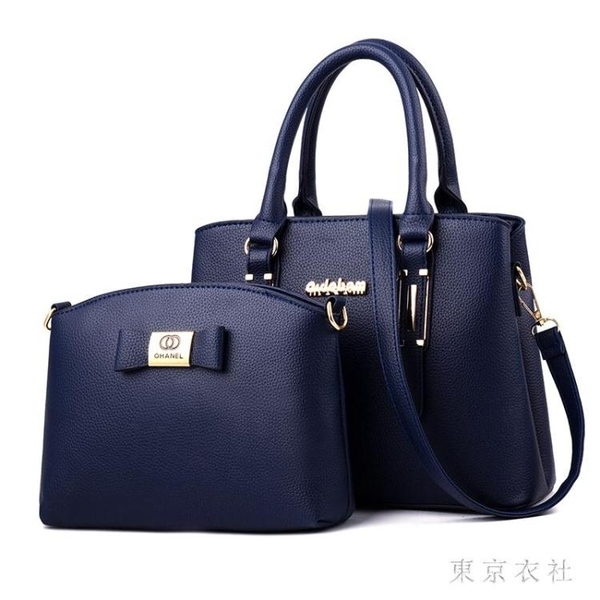 包包新款潮時尚手提包韓版百搭斜挎包個性爆款媽媽包子母包 QQ28972『東京衣社』