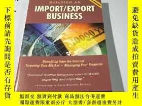 二手書博民逛書店英文原版罕見經濟書 Building an Import Exp