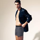【DAYNEER】寬鬆舒活系列-四角褲M11003(玄海藍)(未滿3件恕無法出貨,退貨需整筆退)