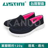 【USTINI 我挺你健康鞋】超輕量涼感走路鞋 女款 (紫x黑 UWI-16-BGG)