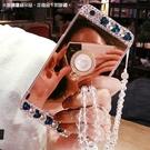 三星 Note8 Note5 S8 S8 Plus S9 S9 Plus 鏡面水晶支架殼 鏡面 手機殼 支架 貼鑽殼 軟殼