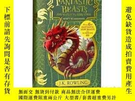 二手書博民逛書店英文原版Fantastic罕見Beasts Where to F