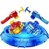 三寶超變戰陀陀螺玩具兒童男孩拉線髪射器手柄超能環對戰鬥盤配件