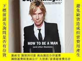 二手書博民逛書店HOW罕見TO BE A MAN(and other illus