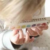 法國Janod兒童學生口琴樂器初學寶寶兒童口風琴音樂玩具培養天賦 NMS蘿莉小腳丫