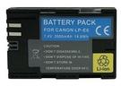 For 相機鋰電池 【LPE6】 5D II MARK 2 5D2 5D II 7D LP-E6 可顯示時間 新風尚潮流