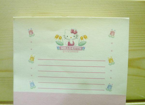 【震撼精品百貨】Hello Kitty 凱蒂貓~便條-貼紙-圓【共1款】