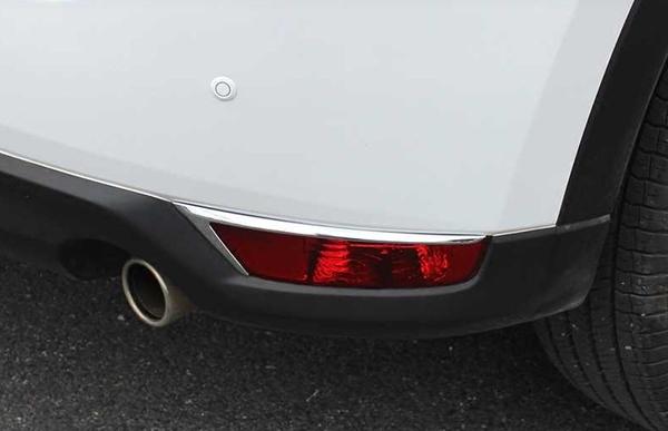 【車王小舖】馬自達 Mazda 2017 Cx-5 後霧燈框 後霧燈罩 裝飾框 電鍍精品