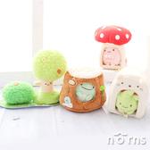 【日貨角落生物場景 小屋】Norns 日本正版 沙包娃娃專用擺飾 房子房屋 樹屋樹洞 蘑菇 森林 帳篷