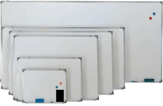 [奇奇文具]【磁性白板】 H203 高密度單磁白板/高級單磁白板 (2尺×3尺)
