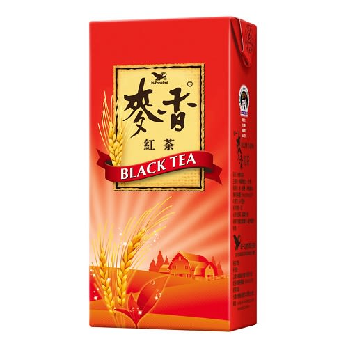 統一 麥香 紅茶 375ml (24入)/箱