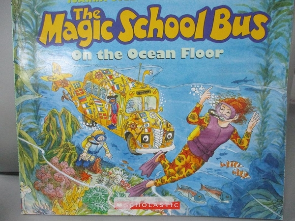 【書寶二手書T7/少年童書_JGG】Magic School Bus On the Ocean Floor_COLE,