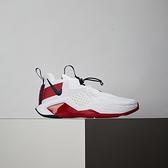 Nike Lebron Soldier XIV (GS) 女大童 白紅 避震 包覆 運動 籃球鞋 CN8689-100