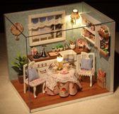 智趣屋房子模型diy手工創意木質玻璃球小屋情侶模型屋迷你公主房【星時代家居】