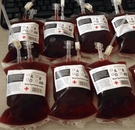 【NF244血漿飲料袋】全新二代雙管飲料...
