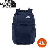 【The North Face 電腦休閒背包 41L《海軍藍》】3ETU/電腦包/後背包/雙肩背包