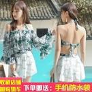2021新款泳衣女日系三件套聚攏遮肚顯瘦性感比基尼可愛泡溫泉泳裝 蘿莉新品