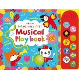 【幼兒觸摸聲音書】BABY'S VERY FIRST MUSICAL PLAY BOOK /聲音觸摸書《主題:聲音》