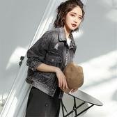 牛仔外套牛仔外套女秋裝新款韓版寬鬆學生百搭短款夾克chic牛仔褂上衣【低至82折】